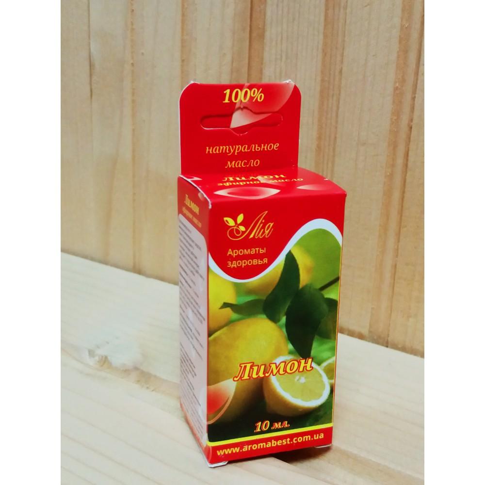 Олія для бані та сауни - Лимон 10 мл