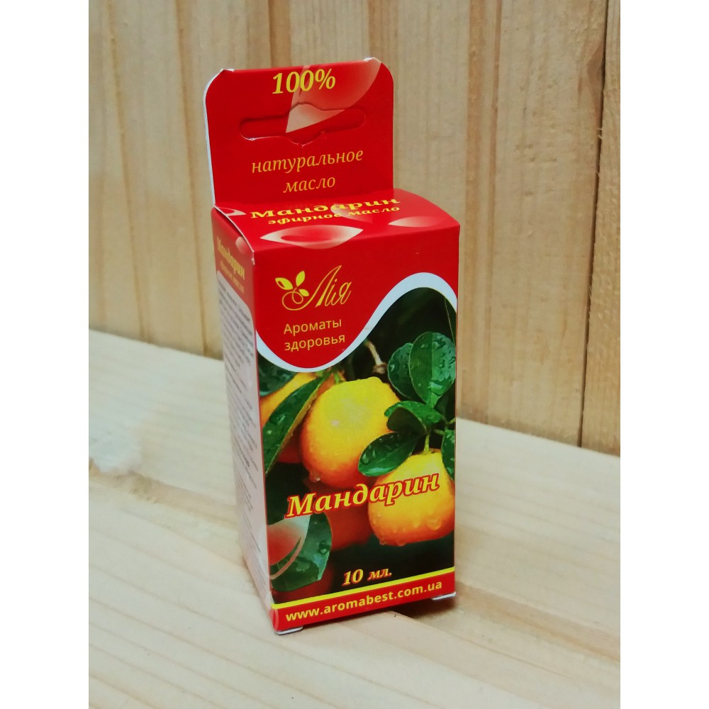 Олія для бані та сауни - Мандарин 10 мл